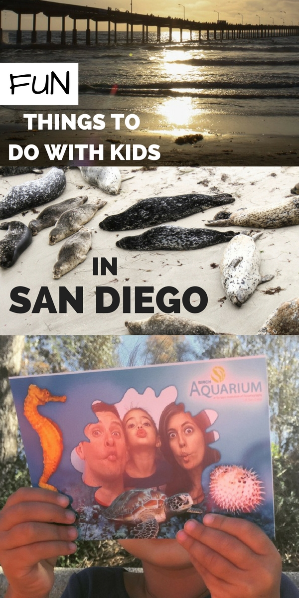 Fun things to do with KIDS in San Diego | fitnessista.com