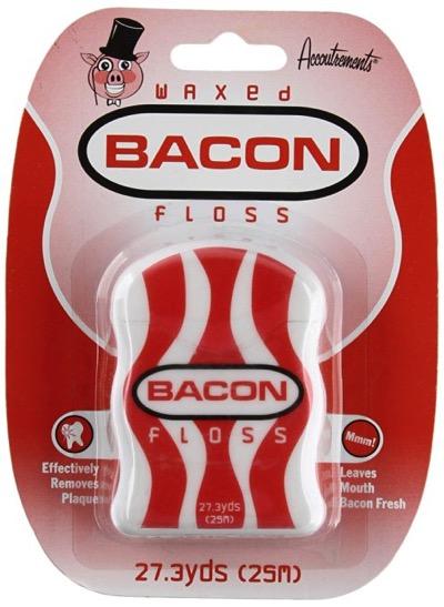 Bacon floss