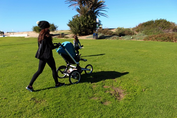 walking with the girls and Bugaboo