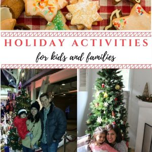 Holiday ideas for kids and families this season! Lots of activities and fun events here.