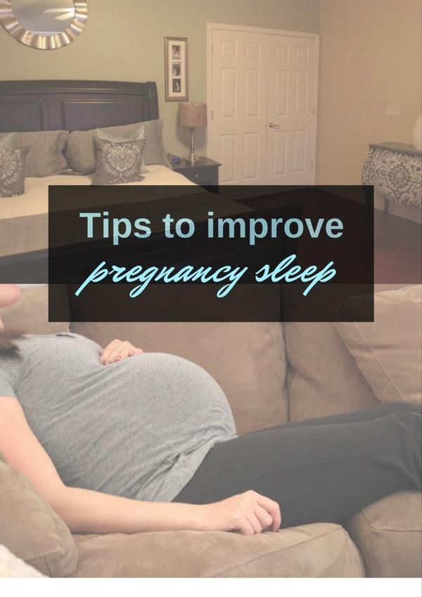 Tips to improve pregnancy sleep