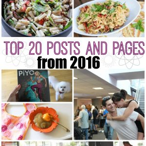 Top 20 posts and pages of 2016