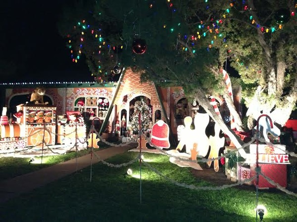 Winter haven Christmas house