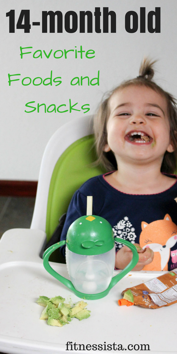 14-month-old favorite foods and snacks