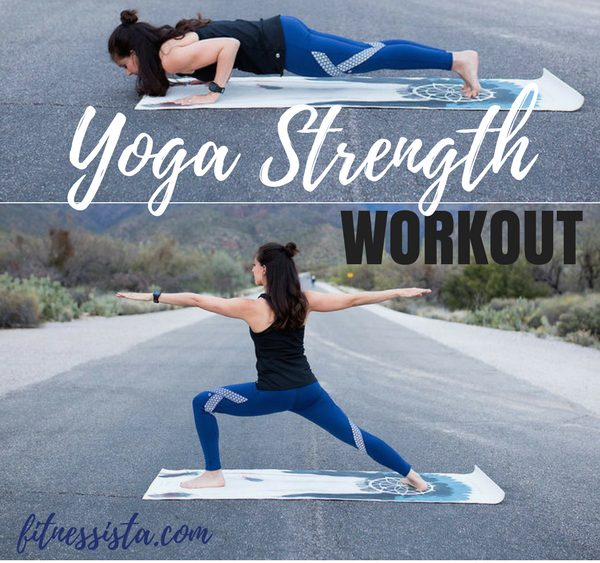 At-Home Yoga Strength Workout