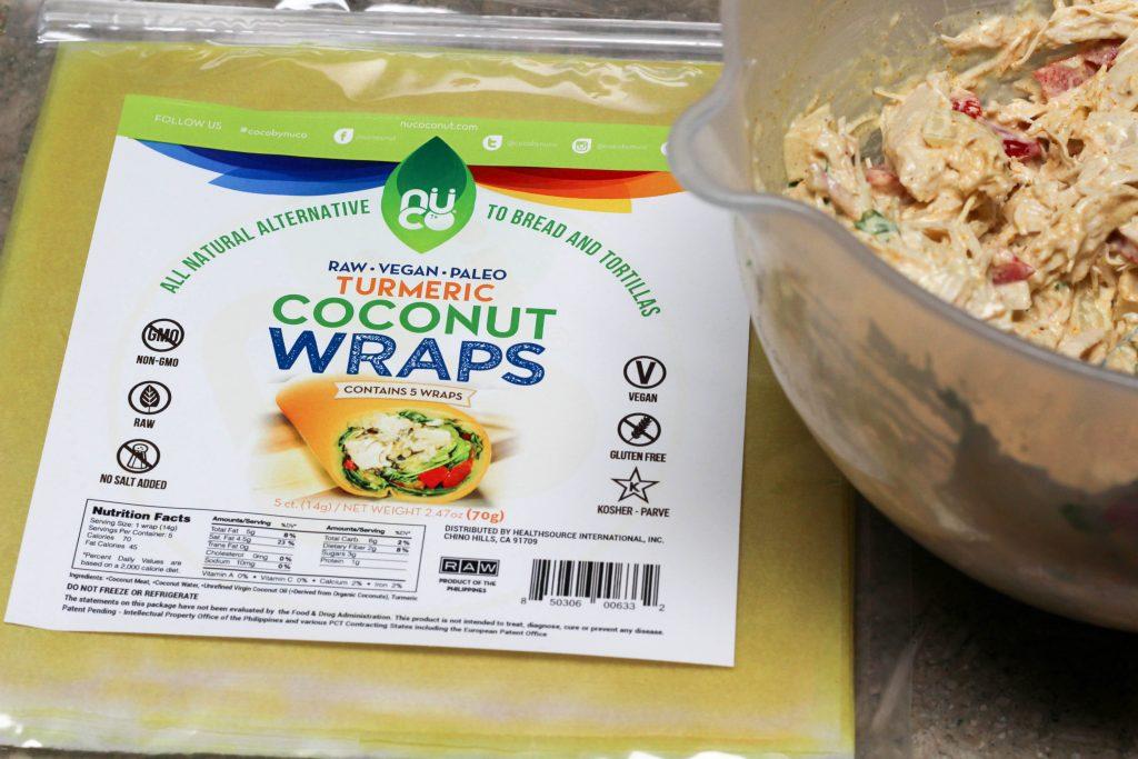 tumeric coconut wraps
