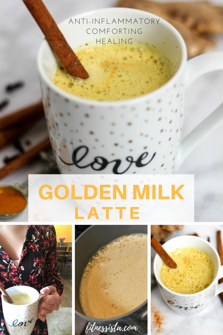 Golden Milk Latte | How to Make Turmeric Tea