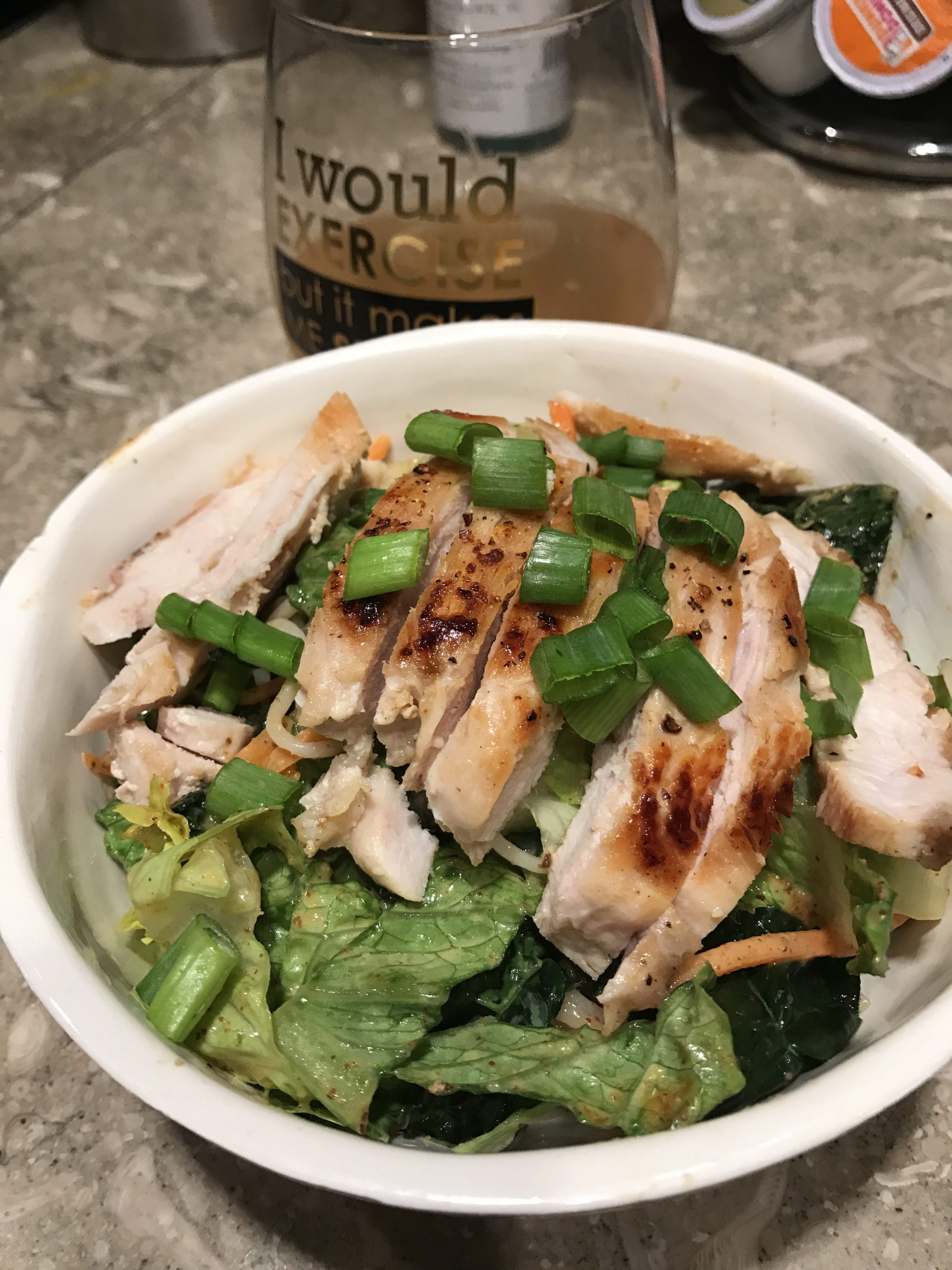 Sunbasket Kyoto chicken and soba noodle salad
