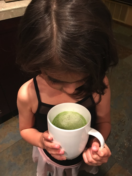Livi and Green Juice