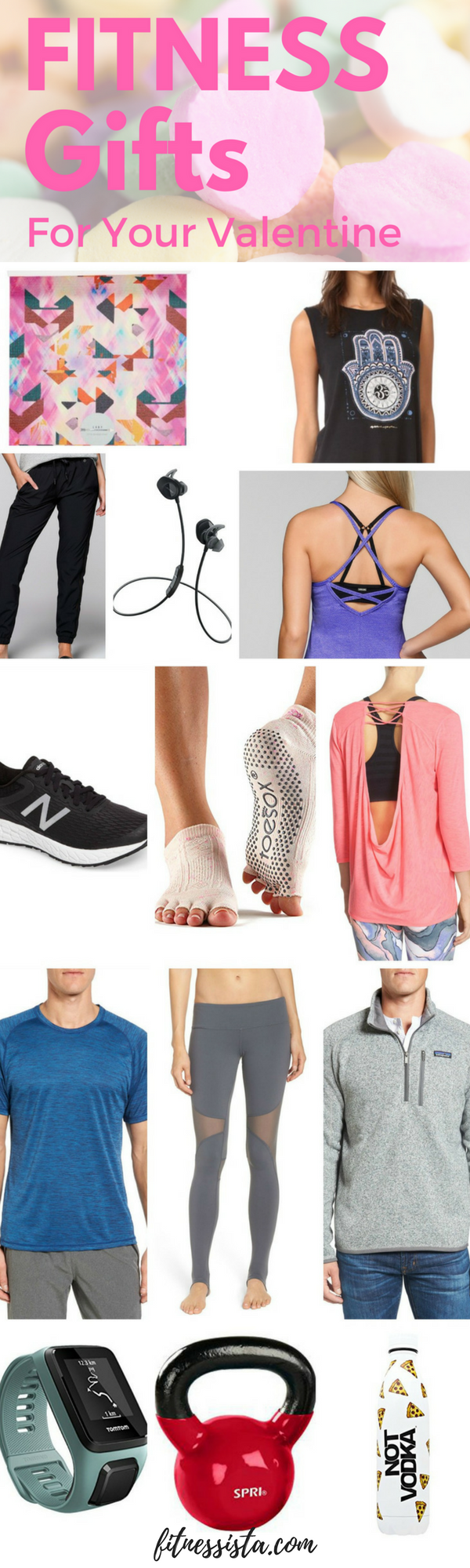 Fitness gifts for your valentine