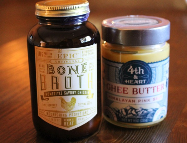 Bone broth and Ghee