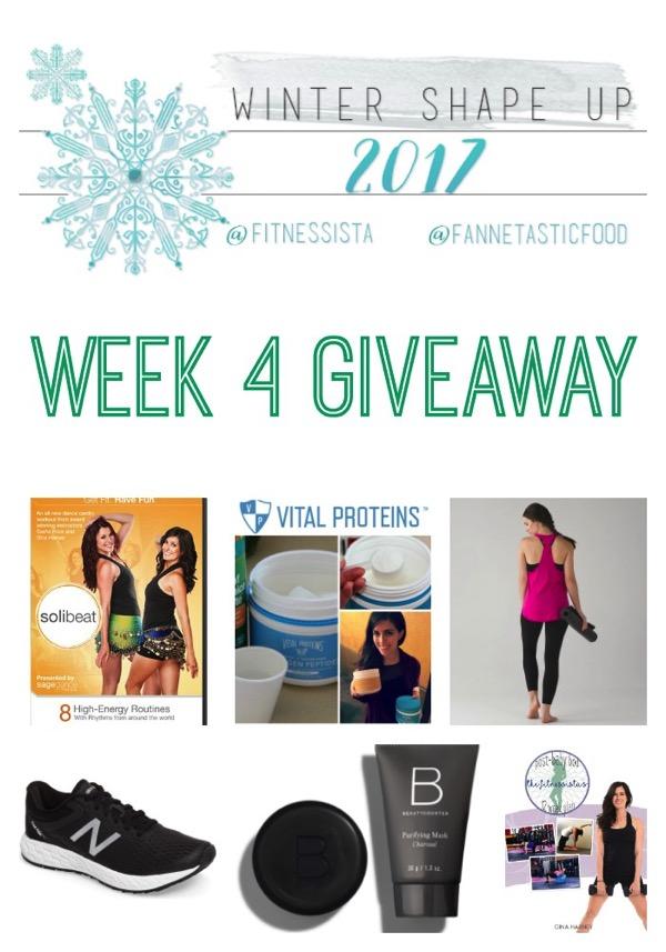 Week4 giveaway