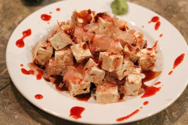 Bonita flake tofu