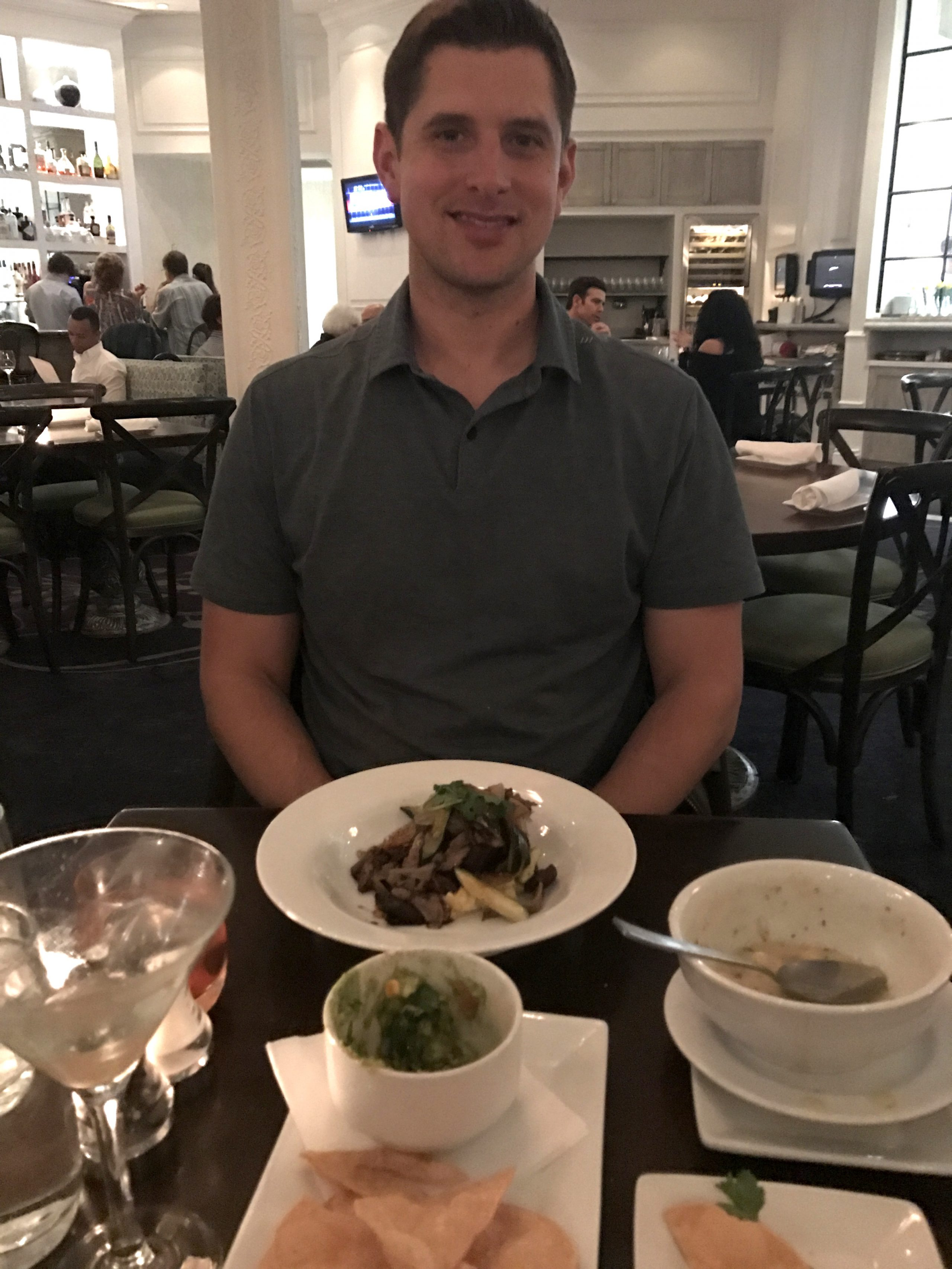 Tom and his meal