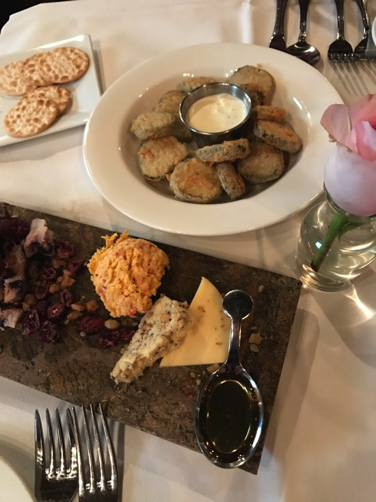 306 north cheese board and fried pickles