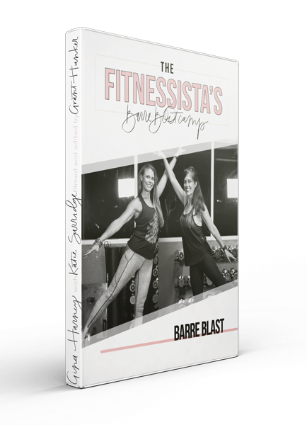 The Fitnessista's Barre Bootcamp Barre Blast - an intense, leg-shaking traditional barre workout with cardio blasts for a sweaty, fun, and challenging workout.