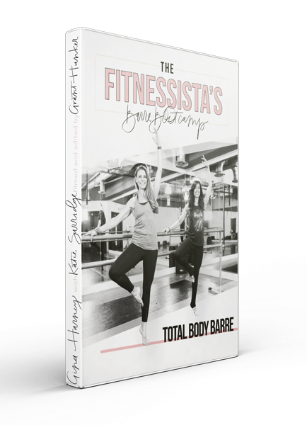 The Fitnessista's Barre Bootcamp Total Body - A classic barre workout that includes bodyweight training with full-range movement, tiny pulses, and cardio blasts.