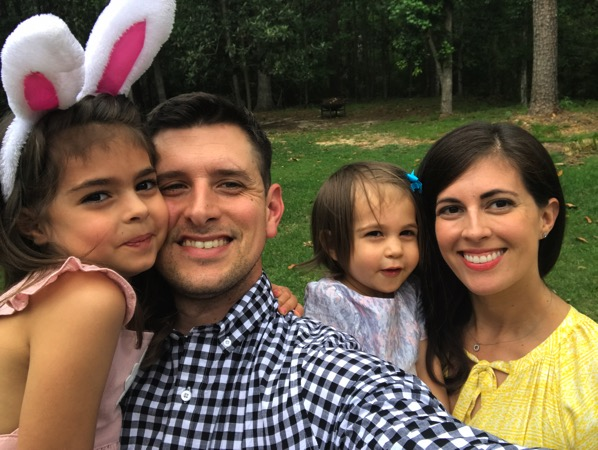 Family selfie on Easter sunday