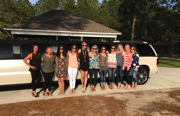 Girls night limo