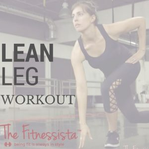 A leg workout you can do at home with your own bodyweight! Add in a dumbbell for extra resistance. fitnessista.com
