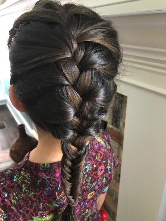 Livi's hair