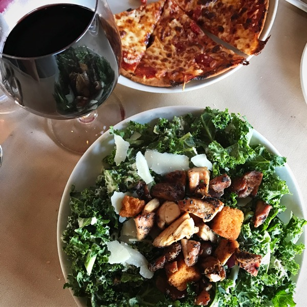 Salad at friends