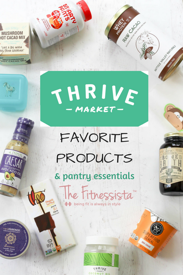 Best things to buy at thrive market