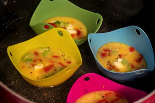 Egg poach cups