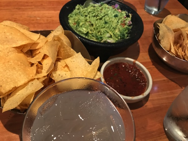 margarita and guac