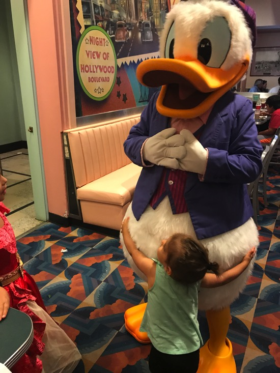 P and donald