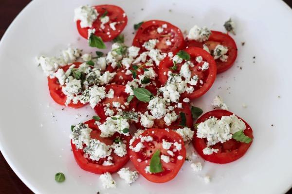 quick tomato appetizer