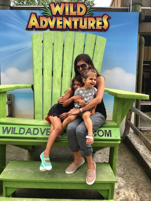 The girls and me Wild Adventures chair