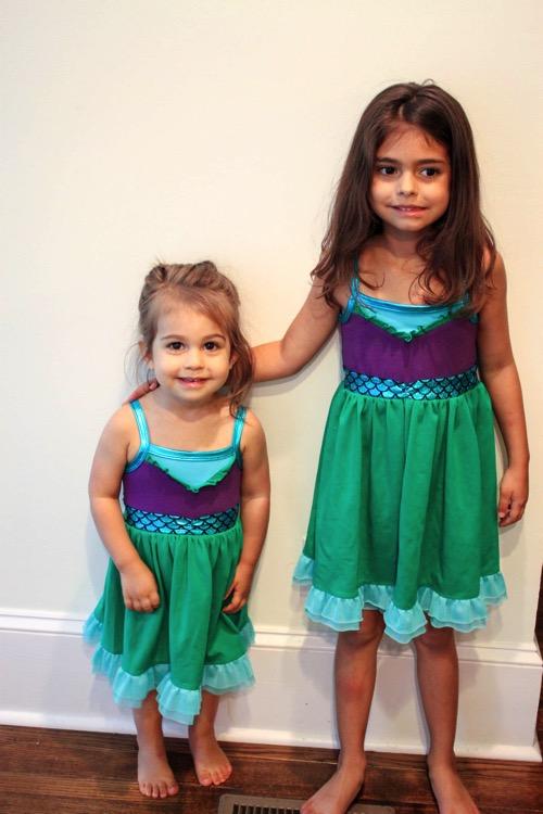 Ariel dresses