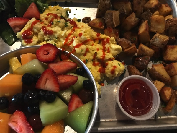 Birdie's breakfast