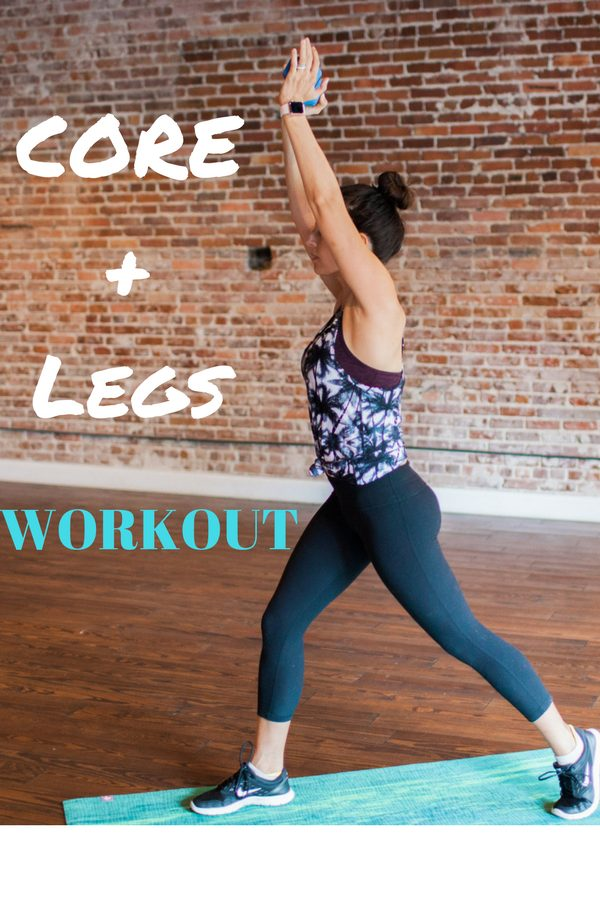 Core and legs workout