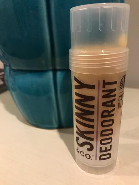 Skinny deodorant