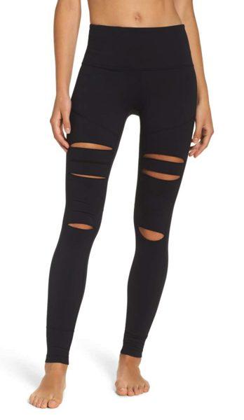 Zella open knee legging