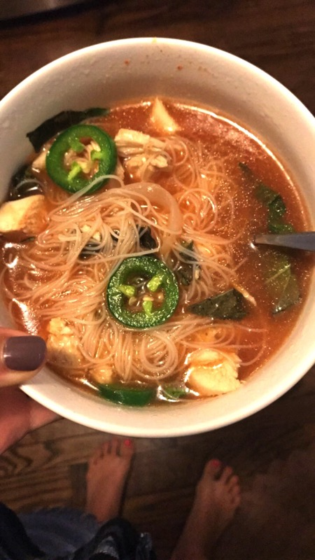 Easy homemade pho