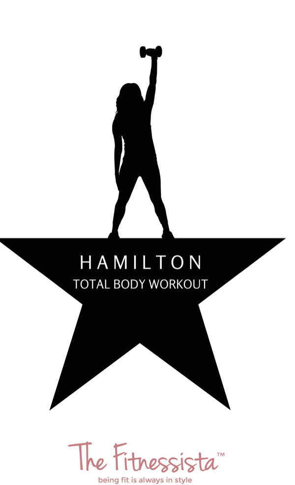 Hamilton workout!! Get in an awesome total body workout based on moves from everyones favorite musical. fitnessista.com