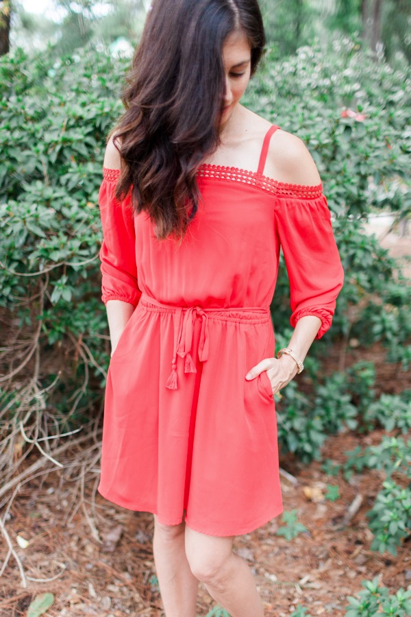 Rebecca Minkoff Paradise Off Shoulder Dress from Stitch Fix