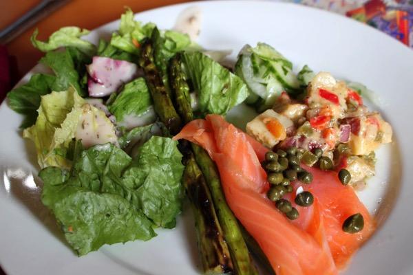 Akershus appetizers