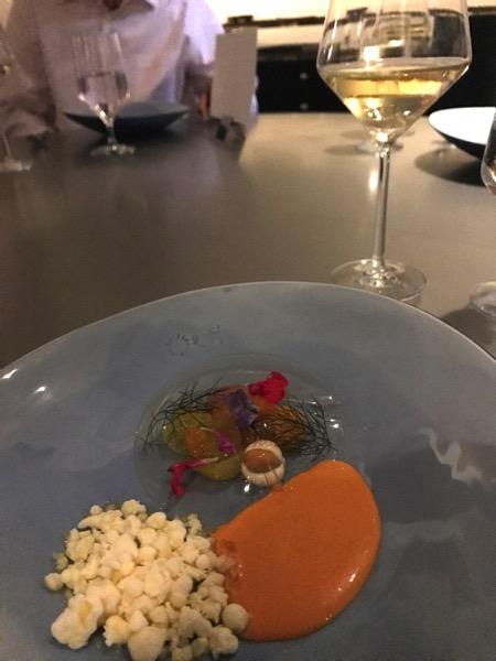 Gazpacho at alinea