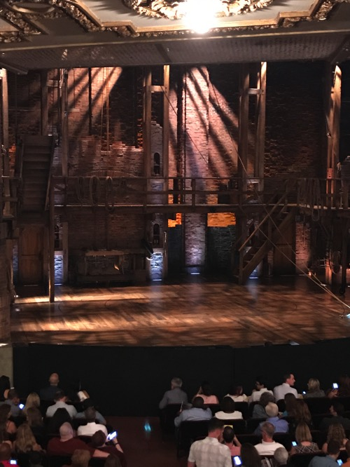 Hamilton stage Chicago