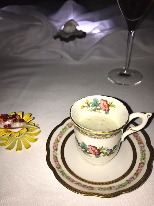 Teacup at Alinea