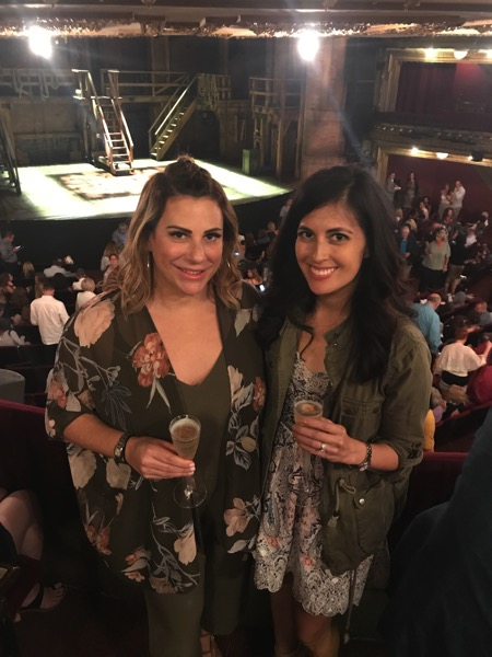 bubbles with Betsy at Hamilton Chicago