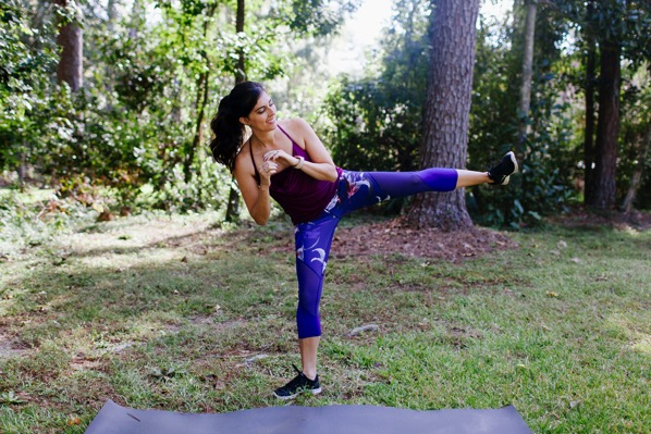 20-minute cardio, core and strength workout - The Fitnessista