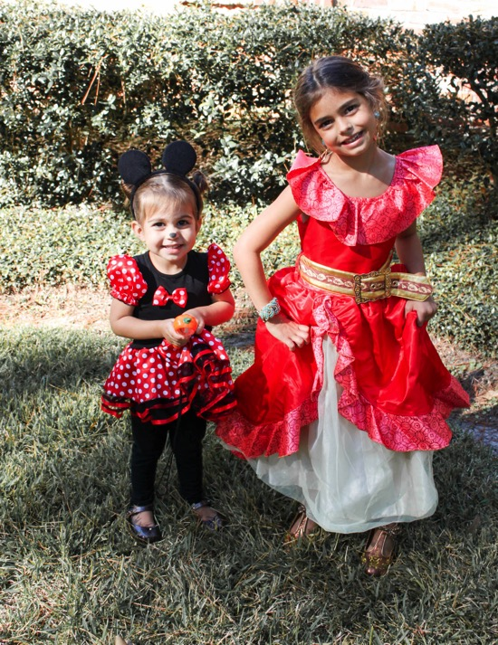 Minni Mouse and Elena of Avalor