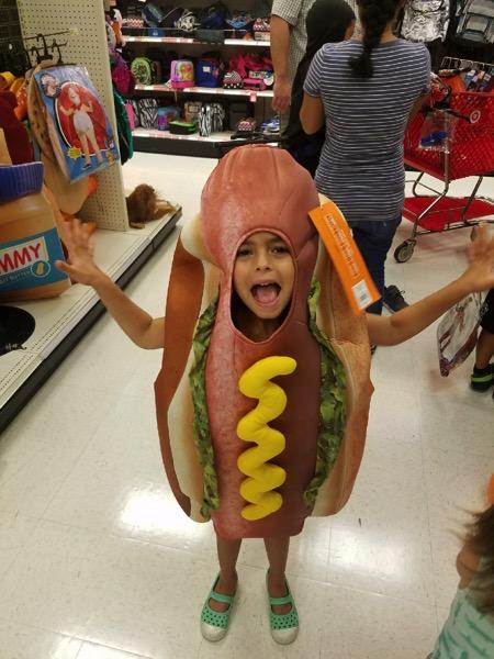 Livi the hotdog