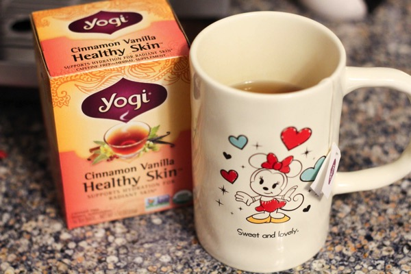 Yogi cinnamon vanilla healthy skin tea