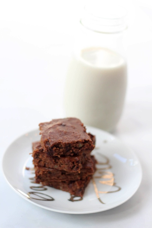 Sweet potato brownies 5